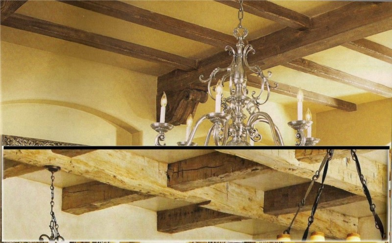 complete - Innovative Wood Beam Ceiling